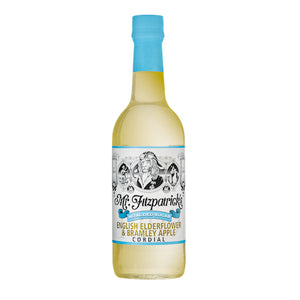 Mr Fitz English Elderflower & Bramley Apple No Added Sugar Cordial