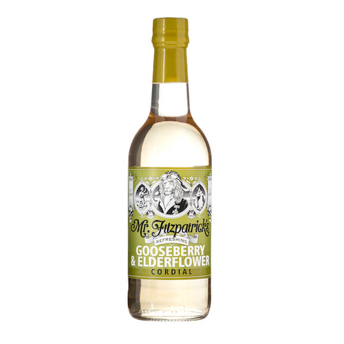 Mr Fitz Gooseberry & Elderflower Cordial