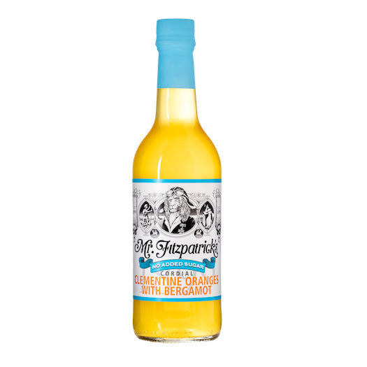 Mr Fitz Clementine, Orange & Bergamot No Added Sugar Cordial