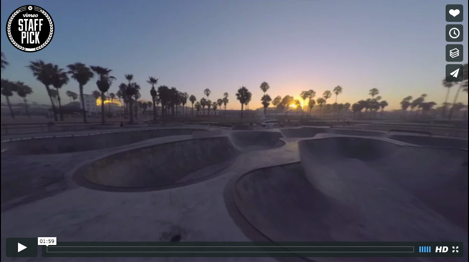 Drone footage + Venice Beach + One take = You're welcome. HØWL - Howl london blog