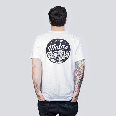 THE WHITE MNTNS TEE - PREMIUM ORGANIC COTTON