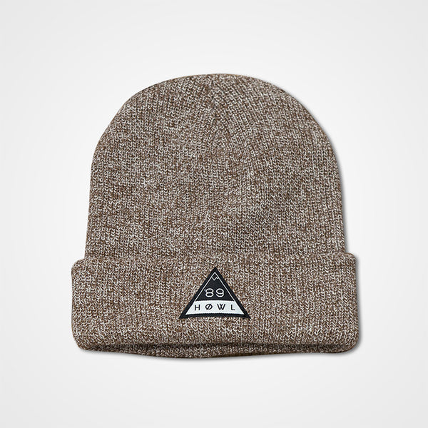 HOWL Heritage Beanie - Heather Oatmeal