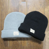 THE FISHERMAN WAFFLE ATHLETIC GREY BEANIE