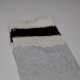 HOWL NEW WOOL BLEND Field Sock - White/Grey/Black