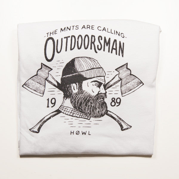 THE WHITE OUTDOORSMAN - PREMIUM ORGANIC COTTON