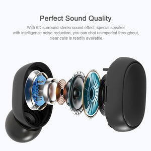 1E22 2 in 1 Wireless Convenient Bluetooth Audio Transmitter for TV Audio