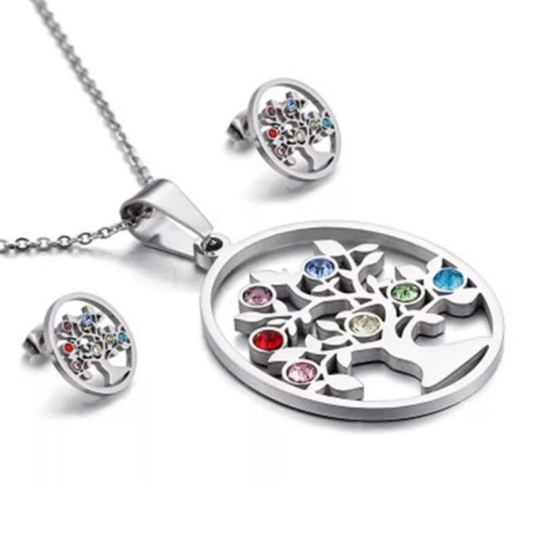 SS 316L Oval Tree of Life Set
