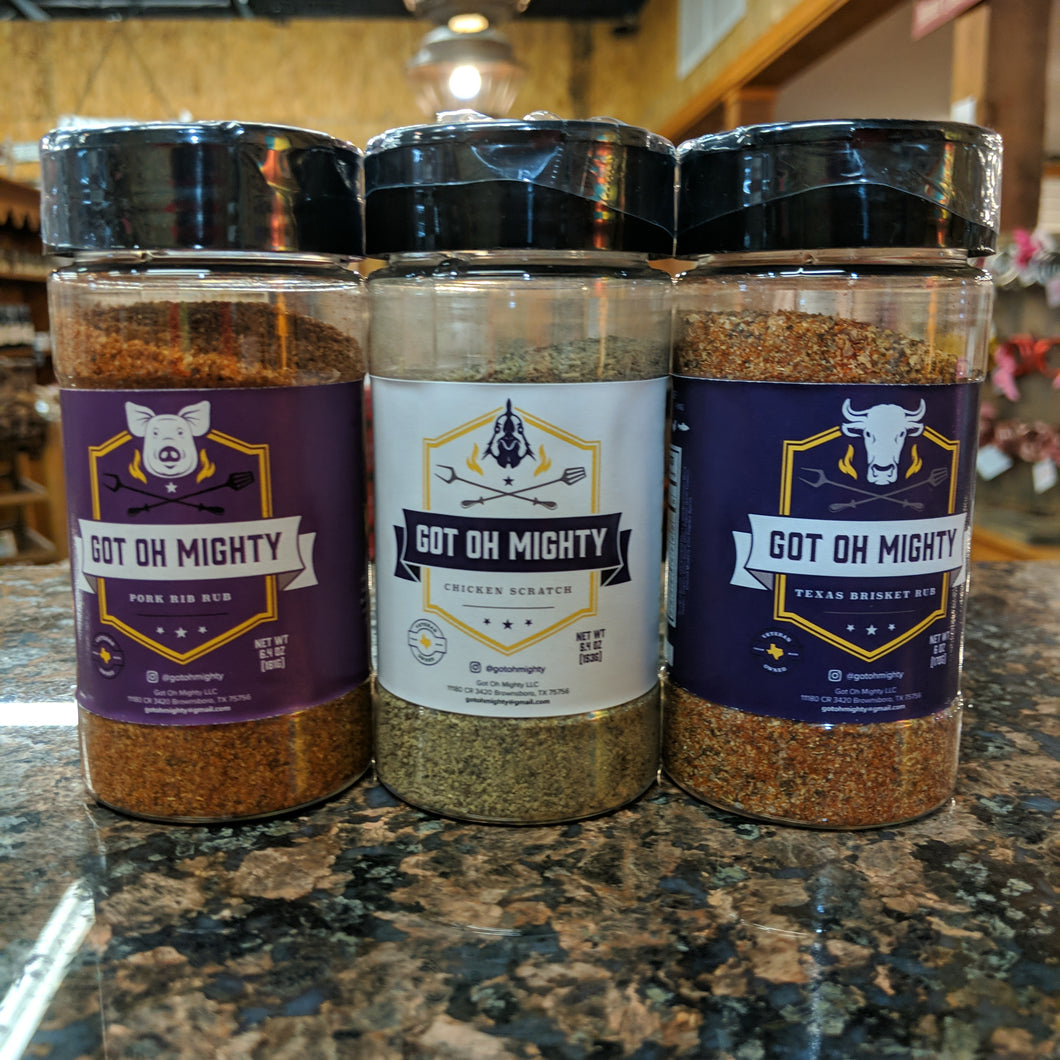 Got Oh Mighty Seasonings - Pork