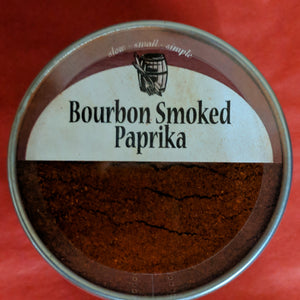 Bourbon Barrel Food Paprika Tin 2.5oz
