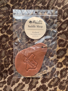McIntire Saddlery Car Scents