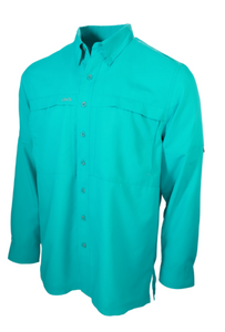 GameGuard® MicroFiber Long Sleeve Caribbean