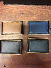 Load image into Gallery viewer, Magnetic Leather Money Clip