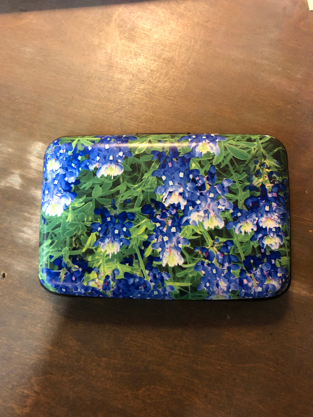 Armored Wallet Blue Bonnets