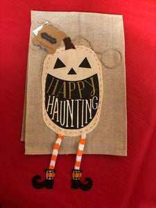 Halloween Pumpkin Tea Towel