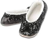 Snoozies® Classic Bling Sherpa Lined Slipper - Assorted Colors