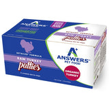Answers - Detailed Raw Turkey Patties for Dogs (4lbs)