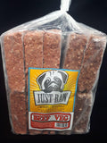 Just Raw Dog Food Beef & Veg 10lb | Growlies,  Vancouver Island