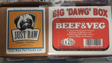 Just Raw Big Dawg Beef 16LB