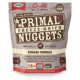 Primal Freeze Dried Canine Venison 5.5oz