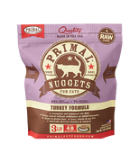 Primal Feline Nuggets Turkey Formula