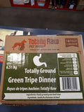 Totally Raw Green Tripe Dinner