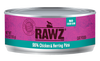 Rawz Steam Cooked Chicken & Herring Paté