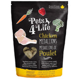 Pets 4 Life Dog - Chicken Medallions (3lb)