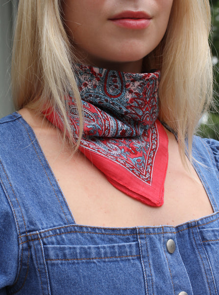INDIAN COTTON BANDANA