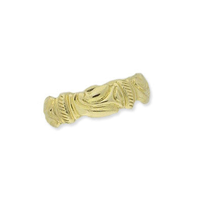 14K Gold Decorative Ring