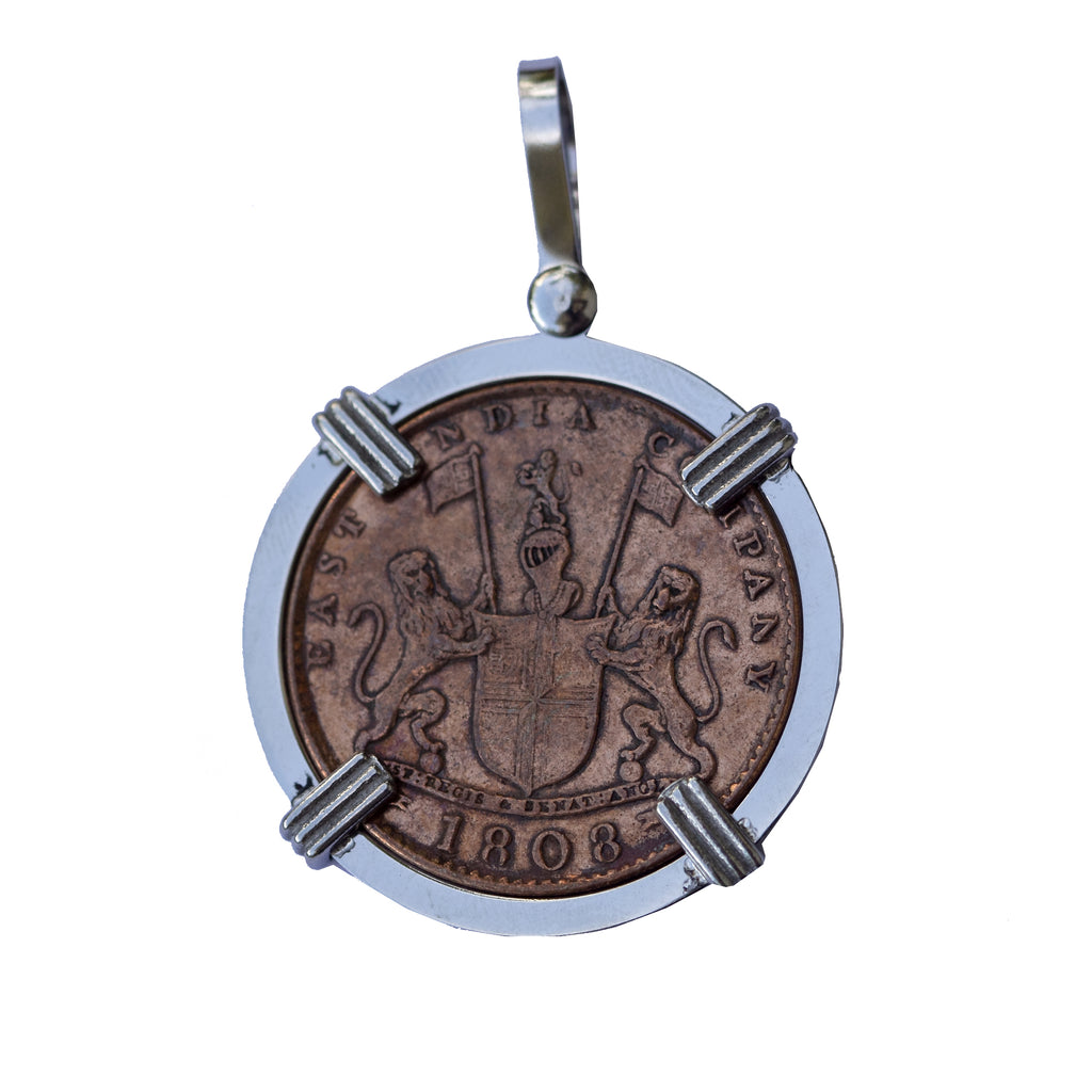 Admiral Gardner Coin with Stainless Steel Mount