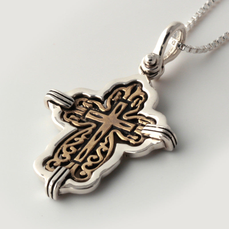 Atocha Re-creation Cross Pendant in Sterling Silver