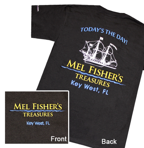 Mel Fisher's Treasures T-shirt with Ship
