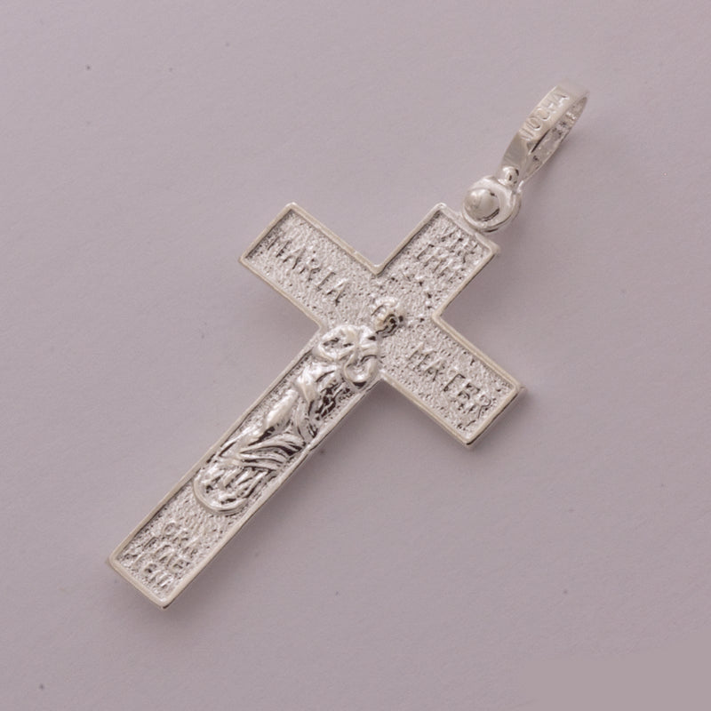 Spanish Galleon Shipwreck Re-creation Sterling Silver Cross Crucifix