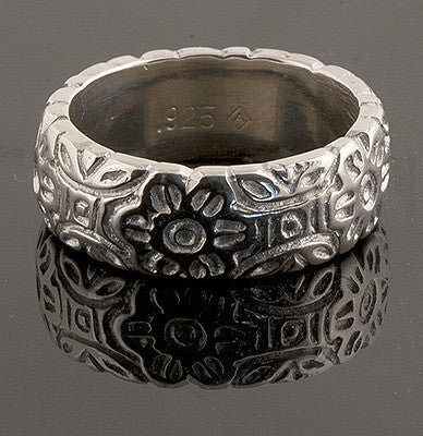 Sterling Silver Olive Blossom Ring Spanish Galleon Shipwreck Re-creation