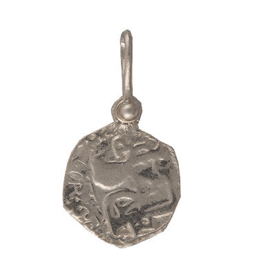 Shipwreck Jewelry Collection, Piece of 8 Small Silver Re-creation Coin