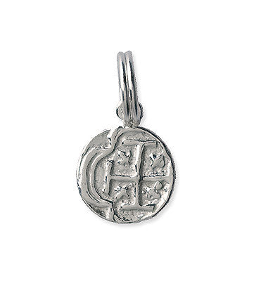 Small Atocha Re-creation Pendant, Silver