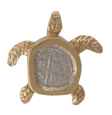 Shipwreck Jewelry Collection, Sea Turtle Pendant
