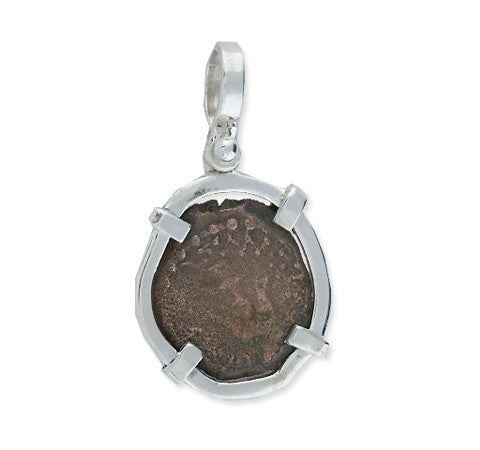 Widow's Mite Coin with Silver Wrap