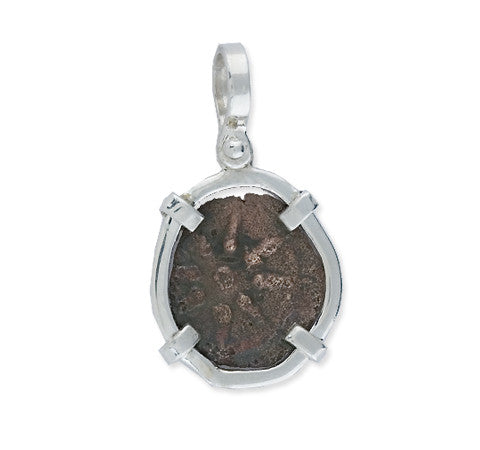 Mel Fisher's Treasures, Widow's Mite Pendant, Ancient Coins, Mel Fisher