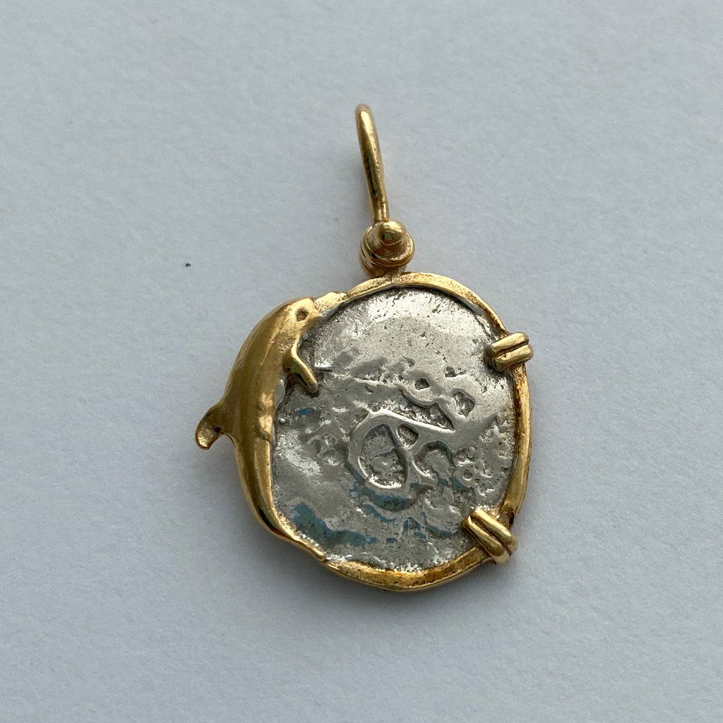 Shipwreck Jewelry Collection, Pendant with Dolphin