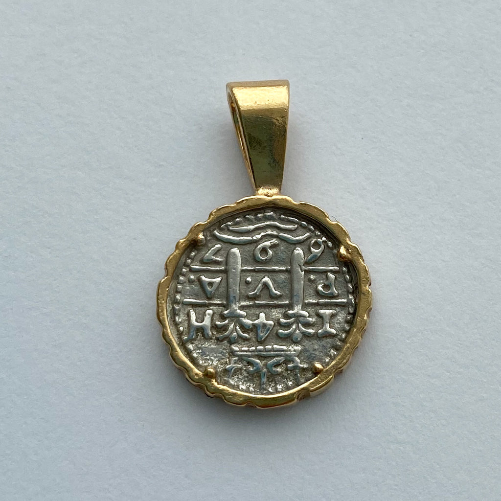 Shipwreck Jewelry Collection, Pendant with Gold Overlay