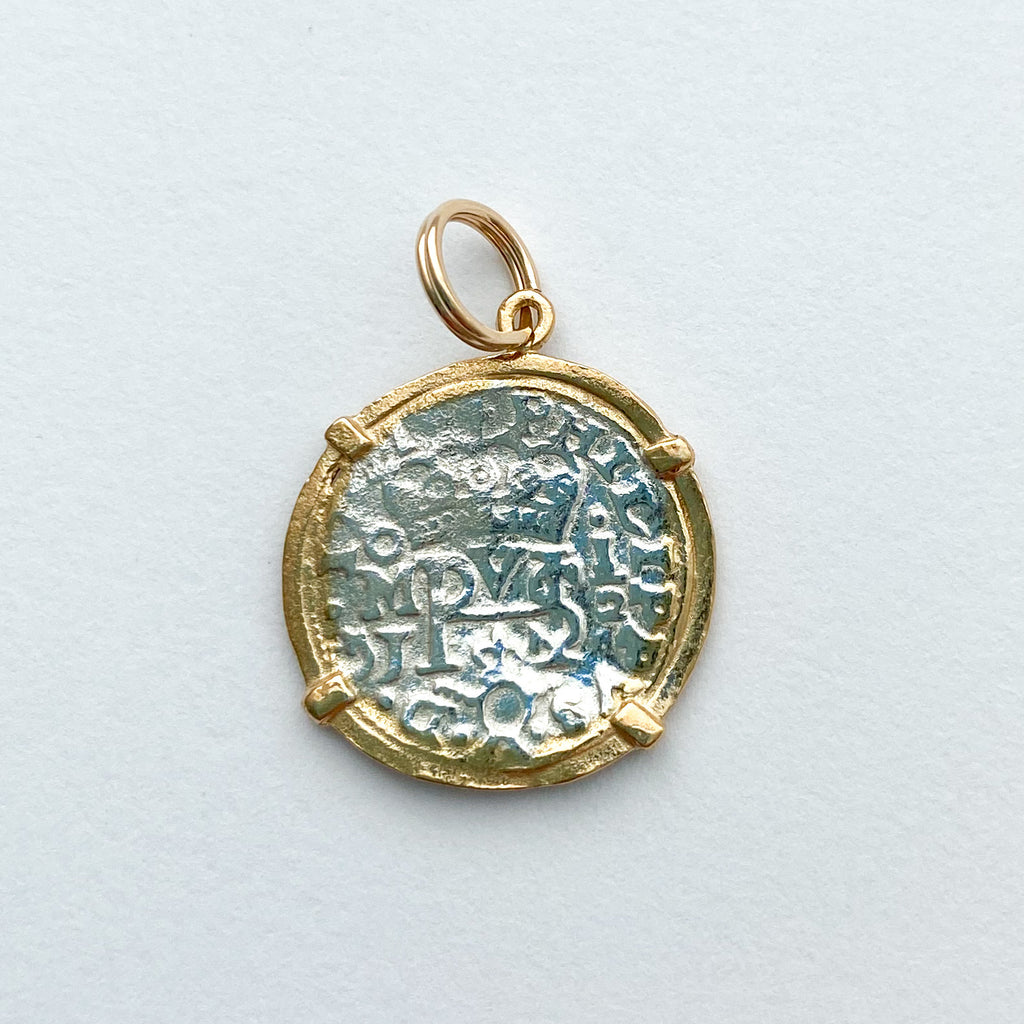 Shipwreck Jewelry Collection, Small pendant with Gold Overlay
