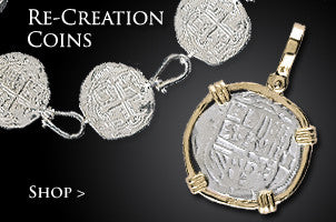 Re-creation Coins Shipwreck Jewelry