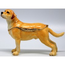 Labrador Trinket Box