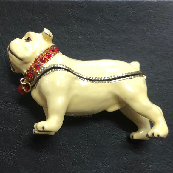 Bulldog Trinket Box