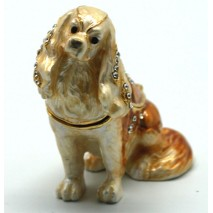 Cocker Spaniel Trinket Box