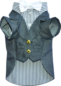 Grey Doggy Suit Jacket