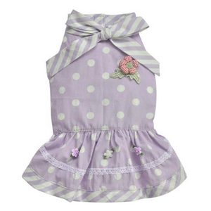 Doggy Party Dress Lilac