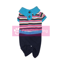Blue and Pink Striped Onesie