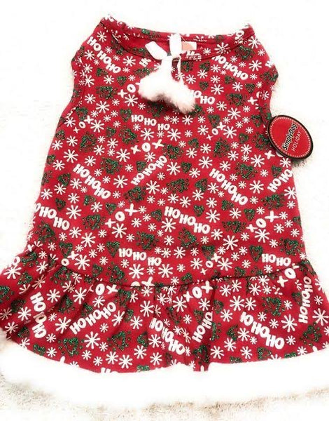 """HO HO HO"" Christmas Dress"